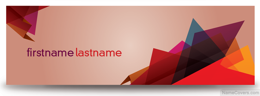 abstract banner name cover facebook timeline cover