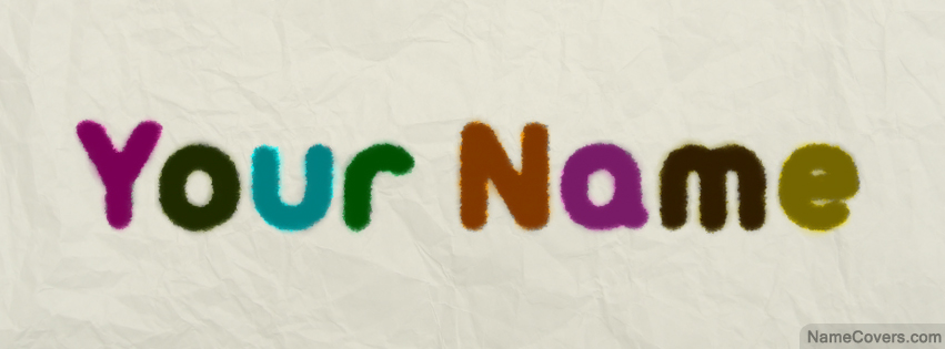 Art Text Effect Name Cover Facebook Timeline Cover